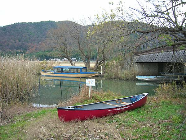 カナディアンカヌー&水郷めぐりの船