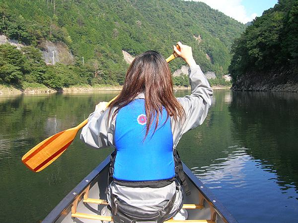 北山川へ出発!