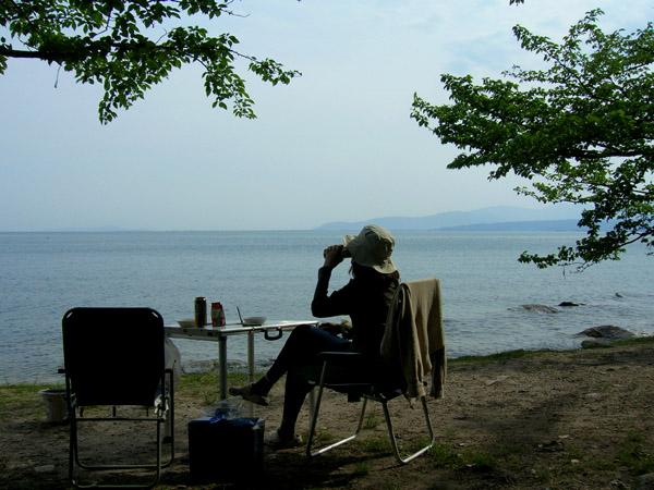 雄大な琵琶湖